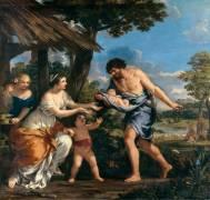 Romulus et Rémus recueillis par Faustulus (Pietro da Cortona) - Muzeo.com