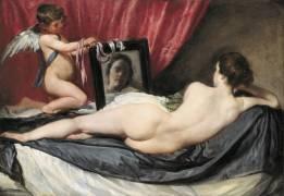 Venus at her mirror (Velazquez Diego) - Muzeo.com