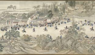 Kangxi Emperor's Southern Inspection Tour (Gu Fang, Wang Hui, Yang Jin) - Muzeo.com