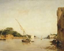 Vue du Nil (Eugène Fromentin) - Muzeo.com