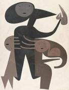 La formatrice (Victor Brauner) - Muzeo.com