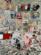 The background of Pollock (Erro) - Muzeo.com