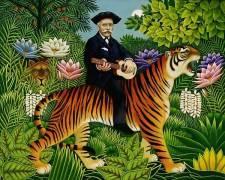 Henri Rousseau's Dream (Frances Broomfield) - Muzeo.com