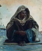Arabe assis (Henry Brokman) - Muzeo.com