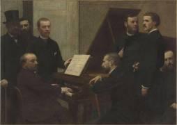 Autour du piano (Henri Fantin-Latour) - Muzeo.com
