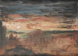 Bergers regardant passer des soldats (Moreau Gustave) - Muzeo.com