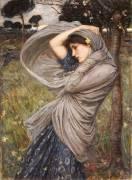 Boreas (John William Waterhouse) - Muzeo.com