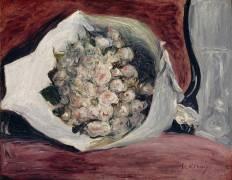 Bouquet dans une loge (Auguste Renoir) - Muzeo.com