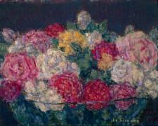 Bouquet de roses (Henri Le Sidaner) - Muzeo.com