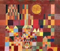 The castle in the sun (Paul Klee) - Muzeo.com