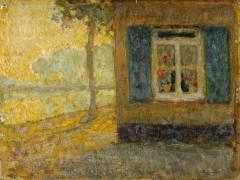 Chemin du canal à Gravelines (Le Sidaner Henri) - Muzeo.com