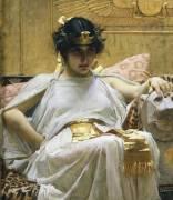 Cleopatra (John William Waterhouse) - Muzeo.com