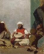 Copie d'aprés la noce Juive de Delacroix (Redon Odilon) - Muzeo.com