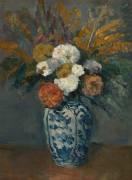 Dahlias (Cézanne Paul) - Muzeo.com