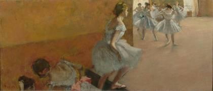 Danseuses montant un escalier (Edgar Degas) - Muzeo.com
