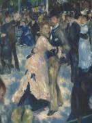Détail du Bal du Moulin de la Galette, Montmartre (Auguste Renoir) - Muzeo.com