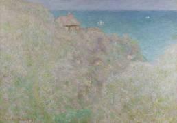 Falaise à Varengeville (Gorge du Petit Ailly) (Claude Monet) - Muzeo.com