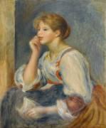 Femme à la lettre (Renoir Auguste) - Muzeo.com