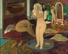 Femmes à leur toilette (Félix Vallotton) - Muzeo.com