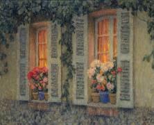 Fenêtres au crépuscule (Le Sidaner Henri) - Muzeo.com