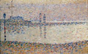 Gravelines : un soir, étude (Seurat Georges) - Muzeo.com