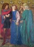 Horatio Discovering the Madness of Ophelia (Dante Gabriel Rossetti) - Muzeo.com