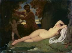 Jupiter et Antiope (Jean-Auguste-Dominique Ingres) - Muzeo.com