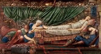 'The Briar Rose' Series, 4: The Sleeping Beauty (Edward Burne-Jones) - Muzeo.com