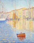 La Bouée rouge, Saint-Tropez (Signac Paul) - Muzeo.com