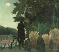 La charmeuse de serpents (Le Douanier Rousseau) - Muzeo.com
