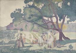 La ferme, matin (Henri-Edmond Cross) - Muzeo.com