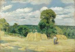 La Moisson (Pissarro Camille) - Muzeo.com