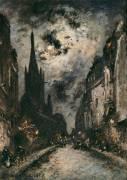 La rue Saint Séverin (Jongkind Johan Barthold) - Muzeo.com