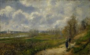 La Sente du Chou (Pissarro Camille) - Muzeo.com