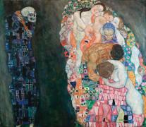 Life and Death (Gustav Klimt) - Muzeo.com
