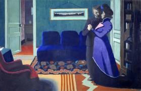 La visite (Félix Vallotton) - Muzeo.com