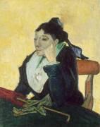The Arlésienne (Vincent Van Gogh) - Muzeo.com