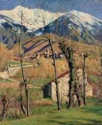 Le Canigou en hiver (De Monfreid George-Daniel) - Muzeo.com