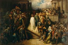 Le Christ quittant le prétoire (Gustave Doré) - Muzeo.com