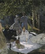 Le déjeuner sur l'herbe (Monet Claude) - Muzeo.com