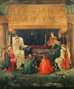 The last sleep of Arthur in Avalon (Edward Burne-Jones) - Muzeo.com