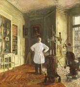 Le Docteur Louis Viau dans son cabinet dentaire (Edouard Vuillard) - Muzeo.com