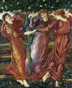 Garden of the Hesperides (Burne-Jones Edward) - Muzeo.com