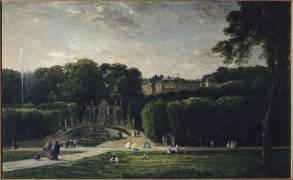 Le parc de Saint-Cloud (Daubigny Charles-François) - Muzeo.com