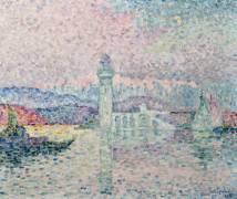 Le Phare d'Antibes (Signac Paul) - Muzeo.com