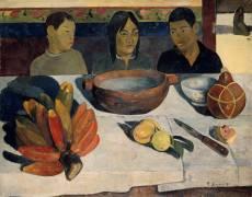Le repas ou Les bananes (Paul Gauguin) - Muzeo.com