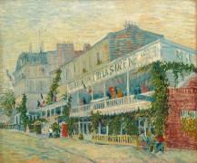 The Mermaid restaurant in Asnieres (Van Gogh Vincent) - Muzeo.com