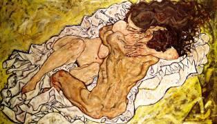 The Embrace (Egon Schiele) - Muzeo.com