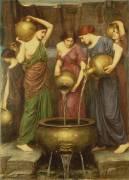 Danaides (John William Waterhouse) - Muzeo.com