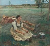 Les foins (Jules Bastien-Lepage) - Muzeo.com